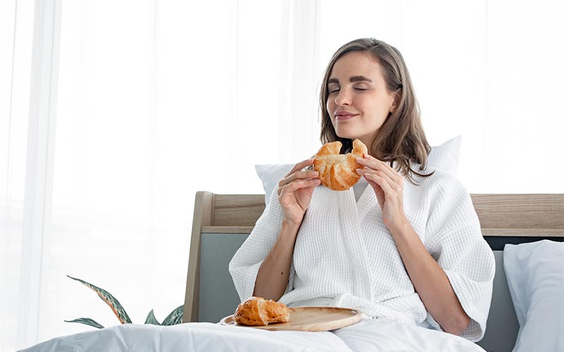 Does eating bread make you sober?